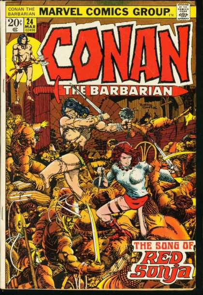 Conan The Barbarian #24, Barry Windsor-Smith