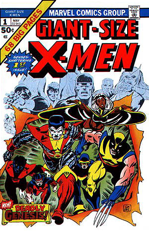 I don't own THIS uber-valuable X-Men comic, but I have seventy-odd others from this era