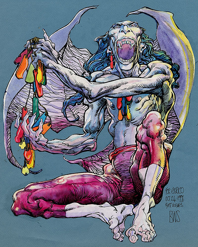 Barry Windsor-Smith's Rune