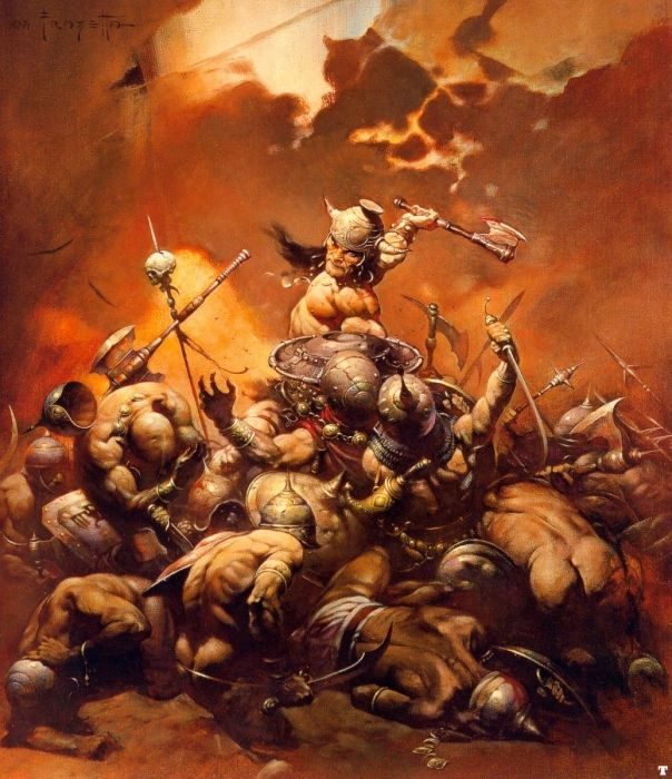 no one like Frazetta
