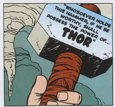 Thor's original virtues, right there on the label