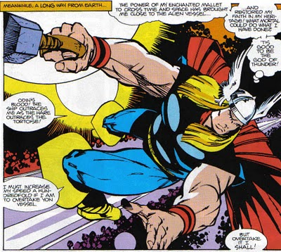 Simonson Thor in space
