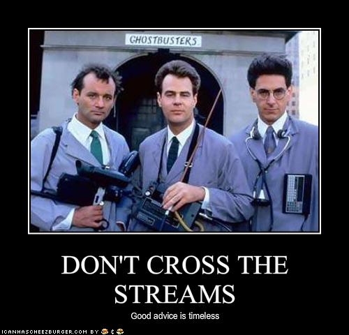 Ghostbusters: Don't Cross the Streams