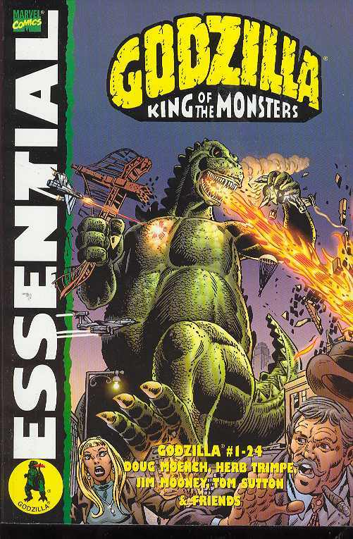 Essential Godzilla!