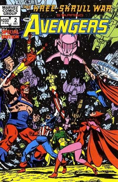 Kree/Skrull War!