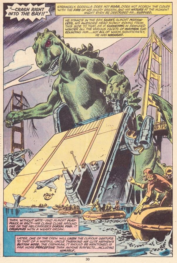 Godzilla 1, Helicarrier 0
