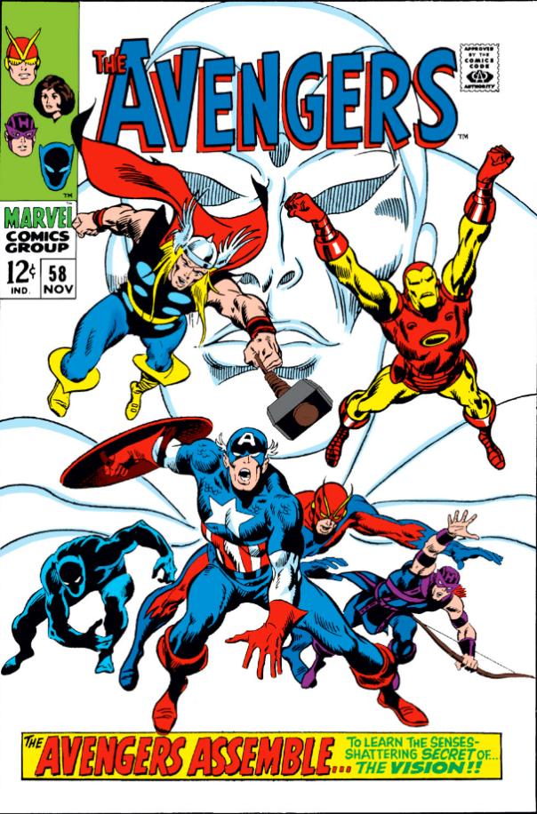 Avengers #58, John Buscema