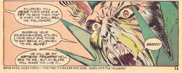 P. Craig Russell & Don McGregor, Amazing Adventures #29