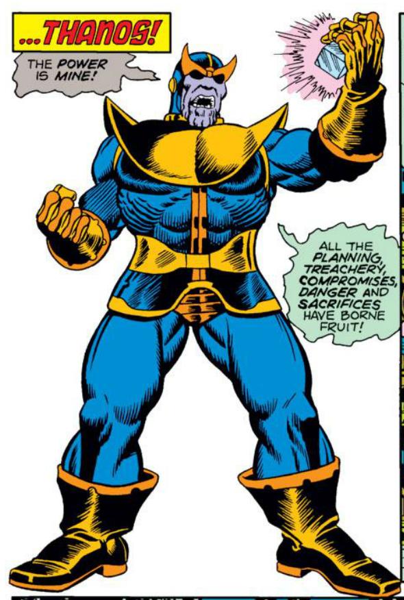 Panel Gallery Thanos Longbox Graveyard