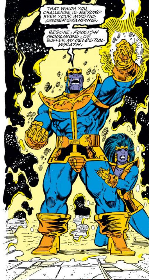 Thanos Amp The Infinity Gauntlet Longbox Graveyard