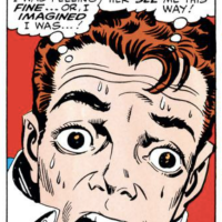 Steve Ditko's Spider-Faces Gallery