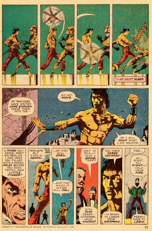 Paul Gulacy & Doug Moench, Master of Kung Fu #30