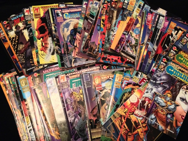 Bulk Comics For Sale!