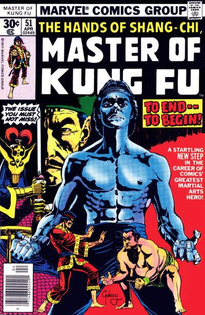 Master of Kung Fu #51, Pau Gulacy