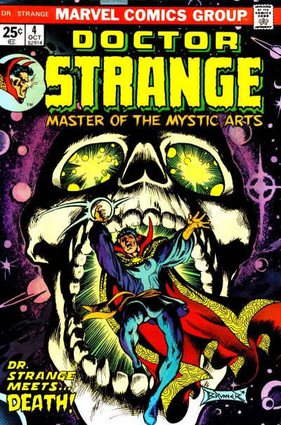 Doctor Strange #4, by Frank Brunner