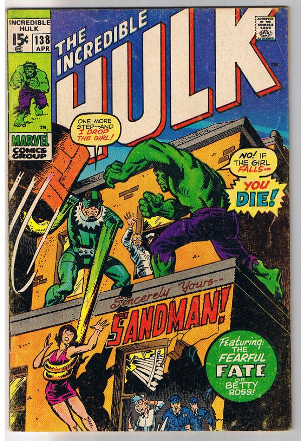 Hulk #138