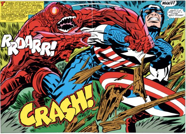 Captain America #208, Jack Kirby
