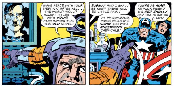 Captain America #212, Jack Kirby