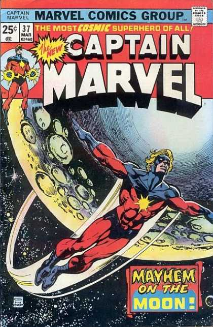 Captain Marvel #37
