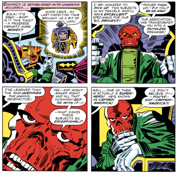 Red Skull, Captain America #210, Jack Kirby