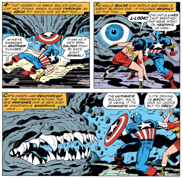 Captain America #211, Jack Kirby