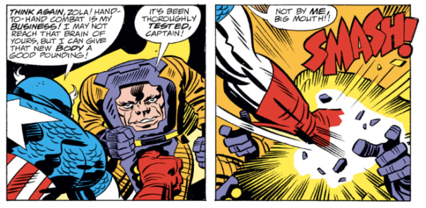 Captain America #209, Jack Kirby