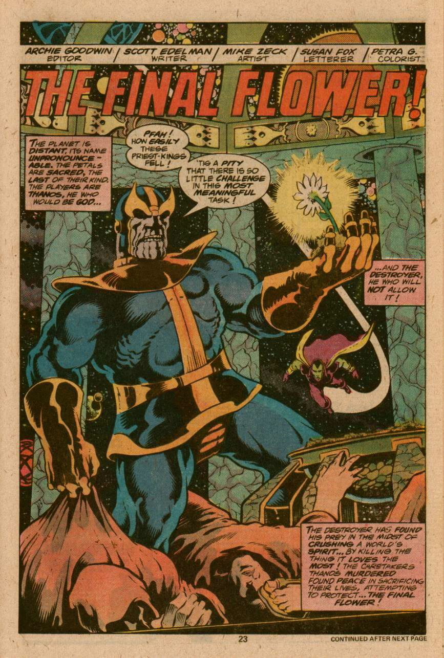 Thanos – Longbox Graveyard