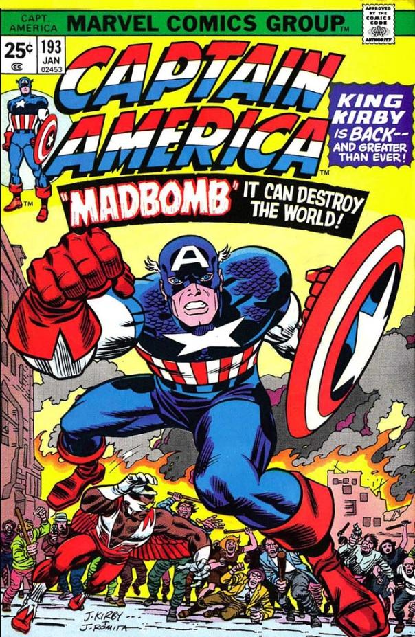 Captain America #193, Jack Kirby