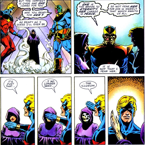 The Death of Captain Marvel, Jim Starlin