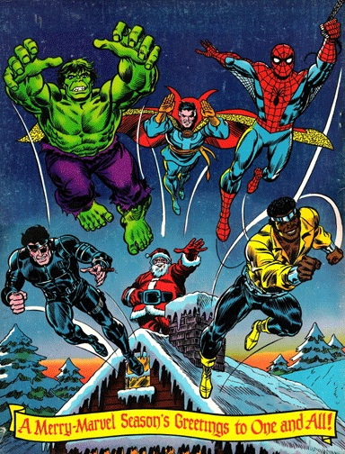 Giant Superhero Holiday Grab-Bag Back Cover