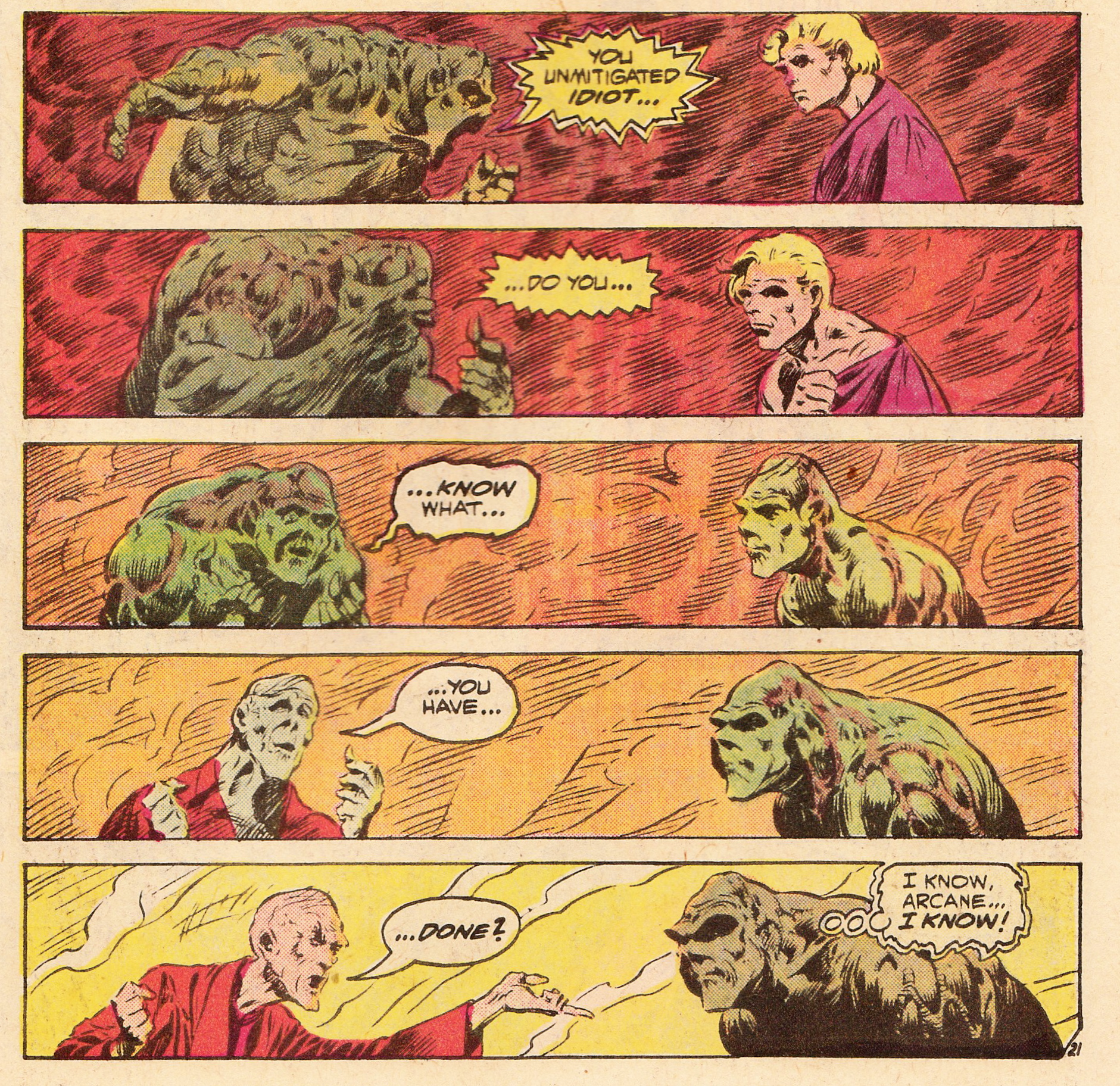 Swamp Thing #2, Len Wein & Bernie Wrightson | Longbox Graveyard