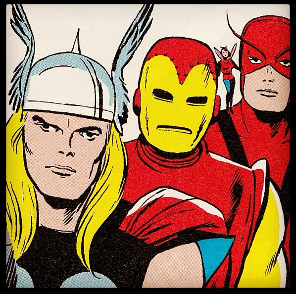 Old School Avengers by Jack Kirby