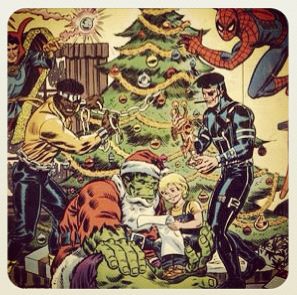 Giant Superhero Holiday Grab-Bag 1975