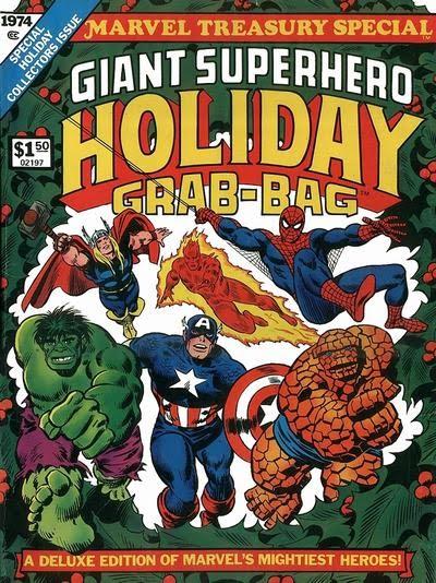 Giant Super-Hero Holiday Grab-Bag