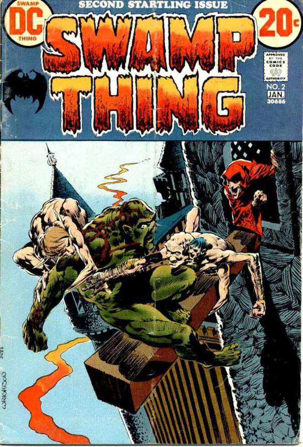 Swamp Thing #2, Bernie Wrightson