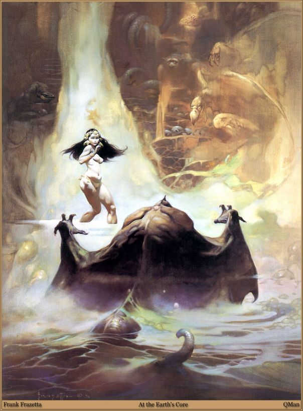 At The Earth's Core, Frank Frazetta