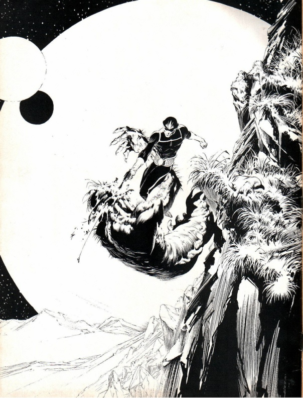 Star-Lord, by Bernie Wrightson