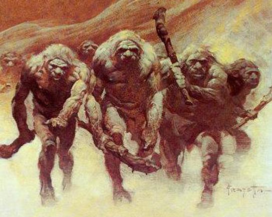 Neanderthals, Frank Frazetta