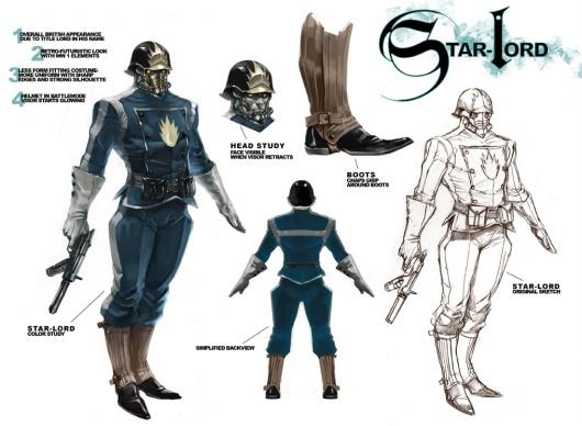 Starlord re-design
