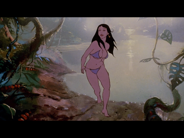 Teegra, Fire And Ice, by Ralph Bakshi and Frank Frazetta