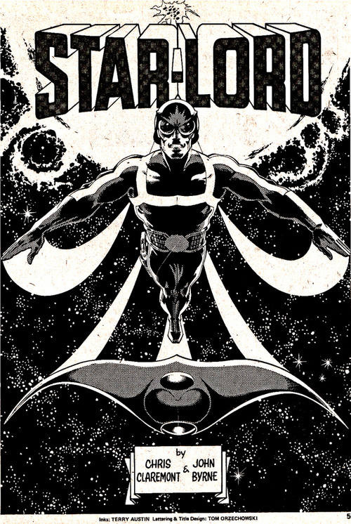 Star-Lord, by John Byrne & Terry Austin