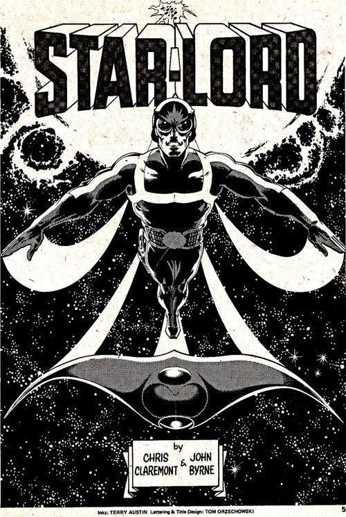 Star-Lord, by John Byrne & Terry Austin