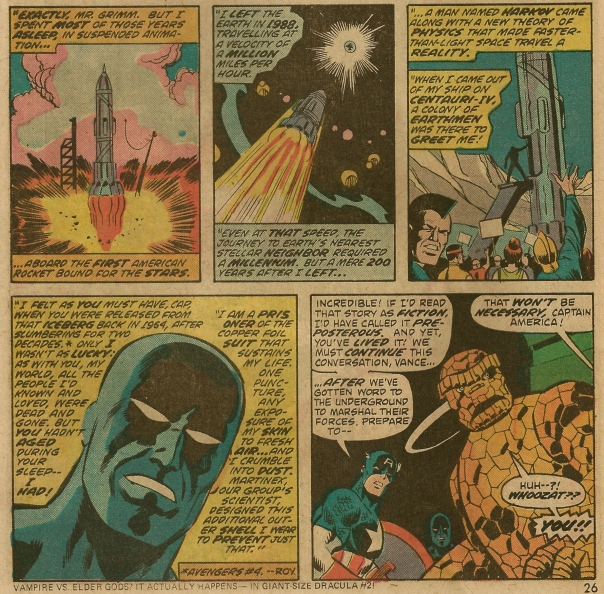 Marvel Two-In-One #5, Steve Gerber and Sal Buscema