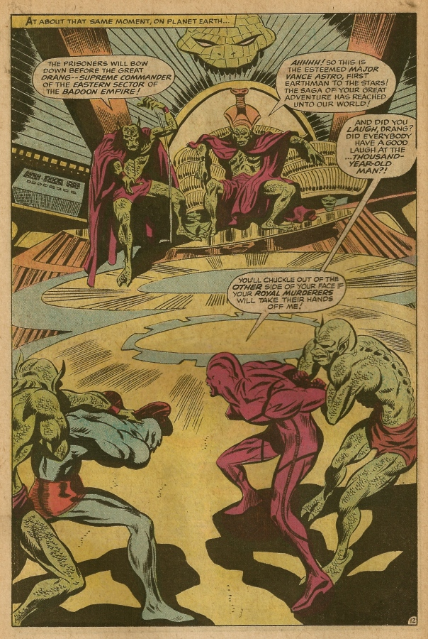 Marvel Super Heroes #18, Gene Colan and Arnold Drake