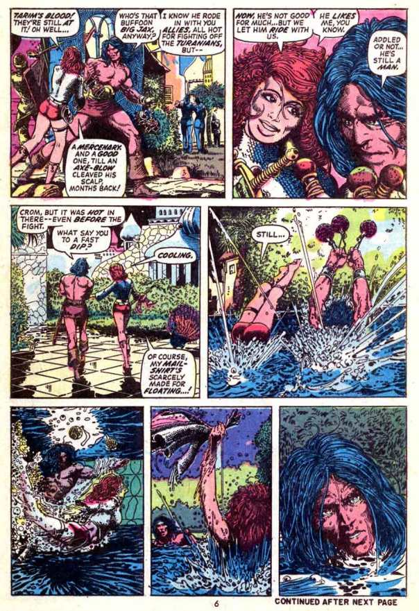 Conan #24, Barry Windsor-Smith and Roy Thomas