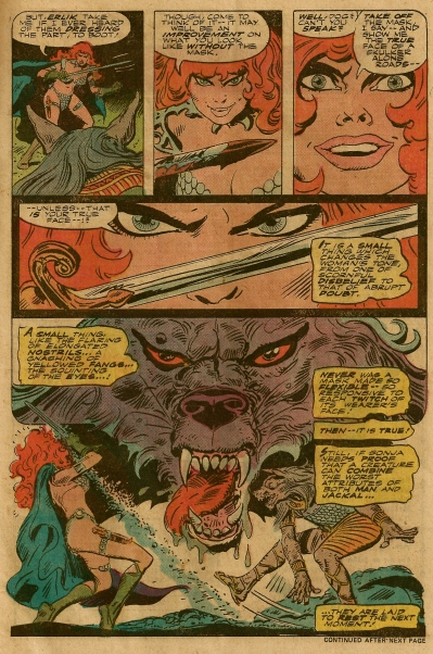 Marvel Feature #6, Frank Thorne
