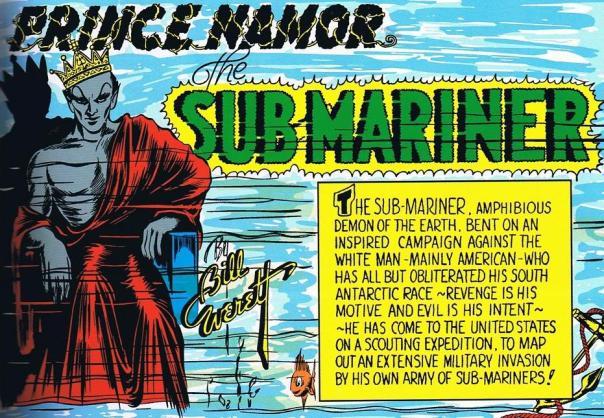 Bill Everett, Sub-Mariner