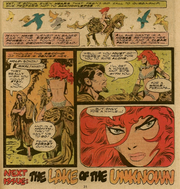Red Sonja #3, Frank Thorne