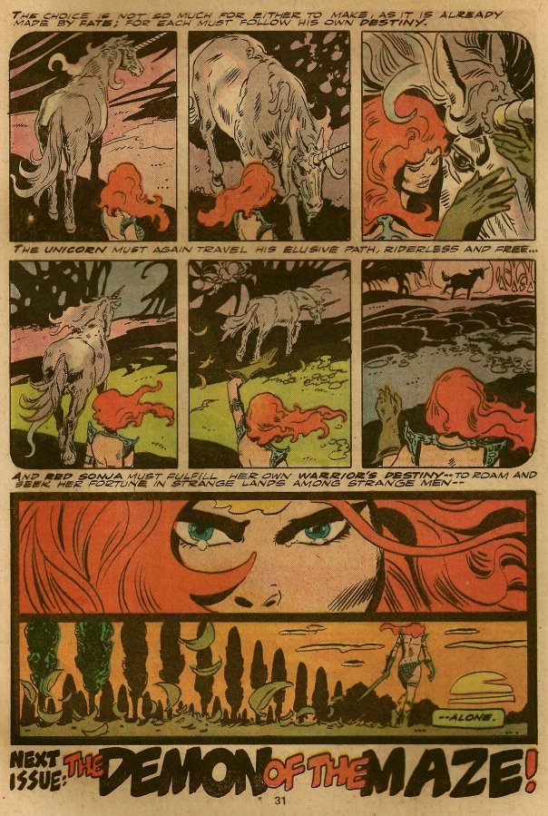 Red Sonja #1, Frank Thorne
