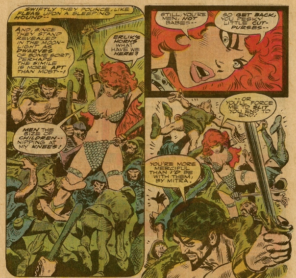Red Sonja #5, Frank Thorne